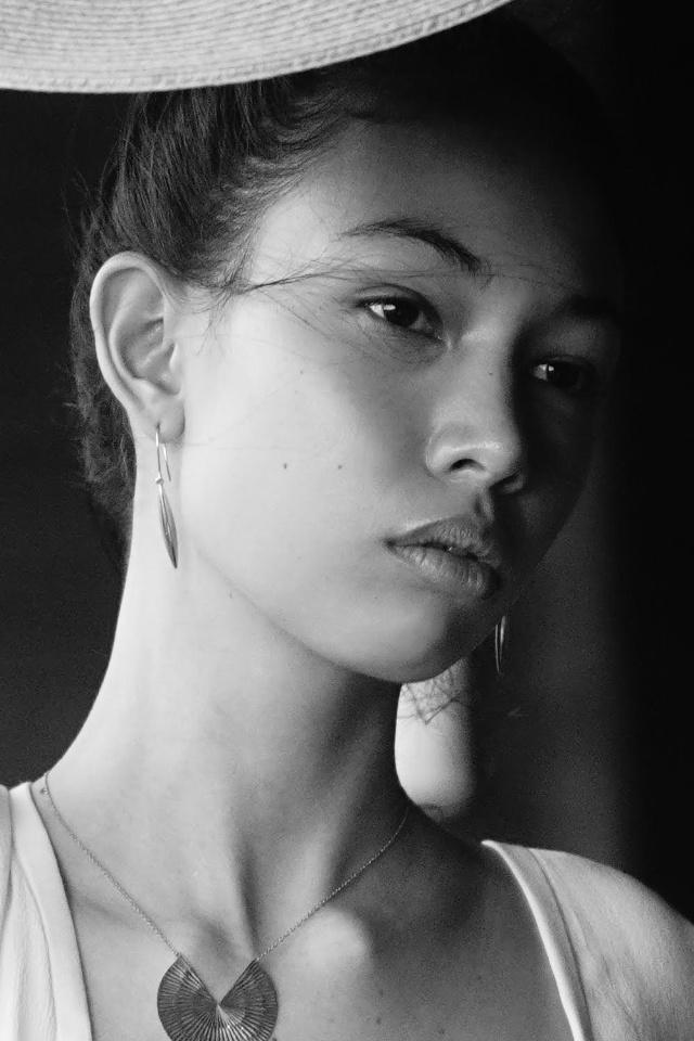 Elegance never fades. Beautiful portrait shot of rising star Emma Rose