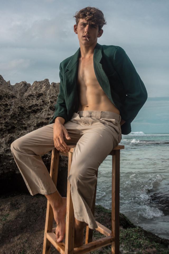 Model Noah Eldridge based in Balil