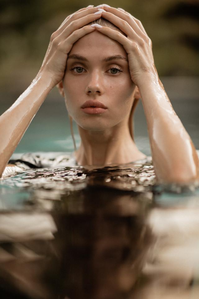 Beautiful Russian model Elizabeth photographed by  French Photographer Cyril. Elizabeth is represented by top Bali Modeling Agency Castaway Model Management