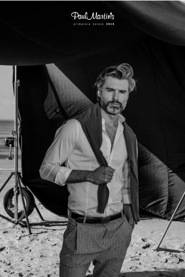 Top male model Rafal Wojtysiak represented by a Bali Modeling agency Castaway Model Management