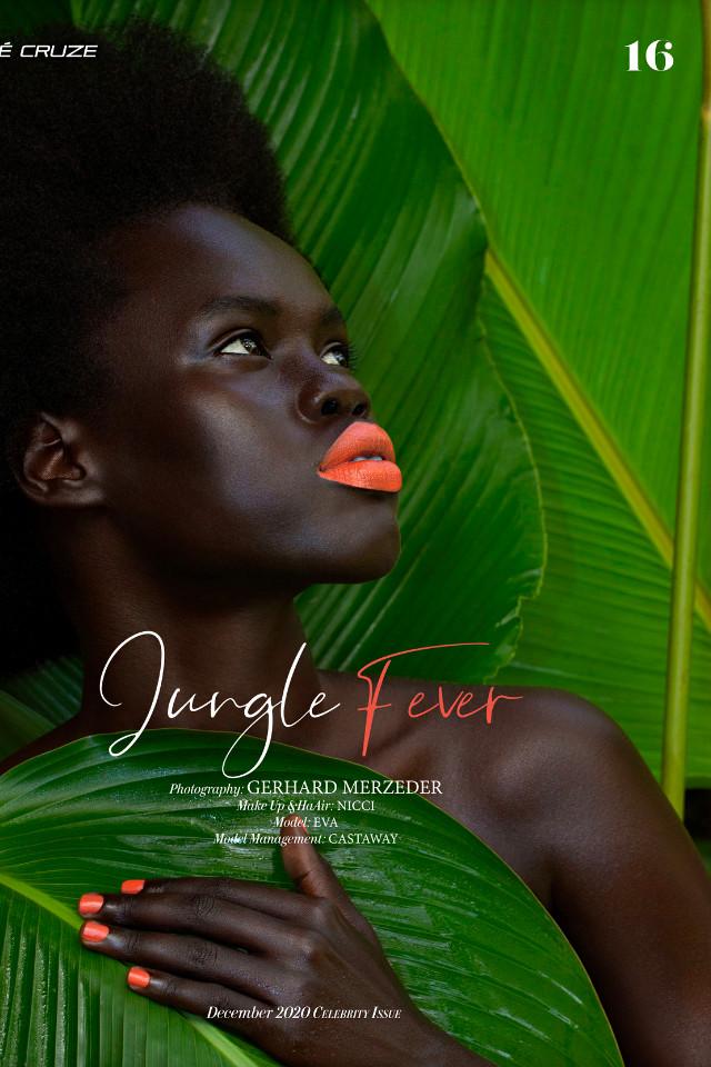 Top fashion model Eva modelling in Bali