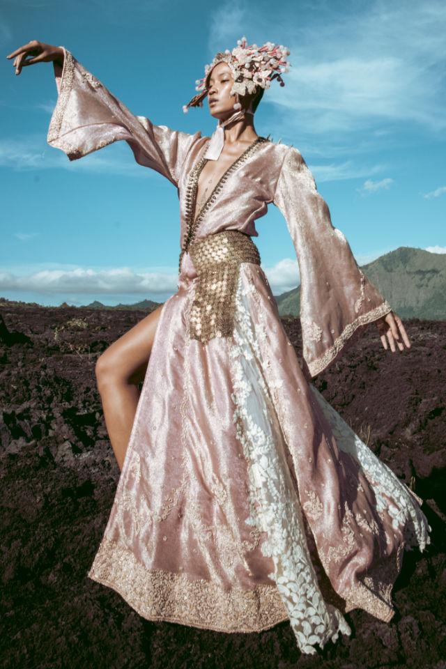 Firosan Noor modelling in Bali
