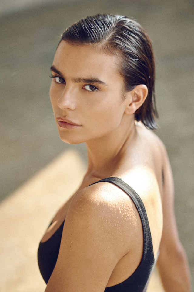 Sasha Muria is signed by Bali modelling agency, Castaway Model Management