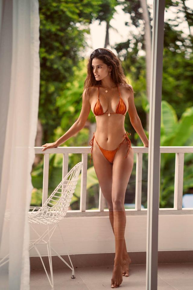 Great photo of Nayara Lima from Castaway Model Management wearing nice swimsuit
