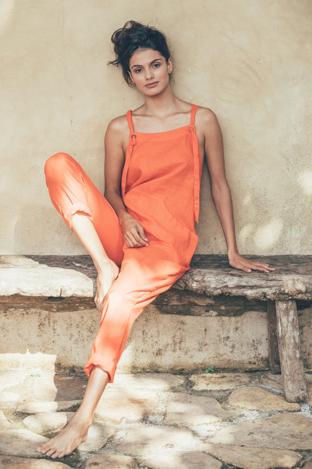 Beautiful life style shot for International brand, Nayara Lima looks effortless and beautiful, booked by Castaway Model Management