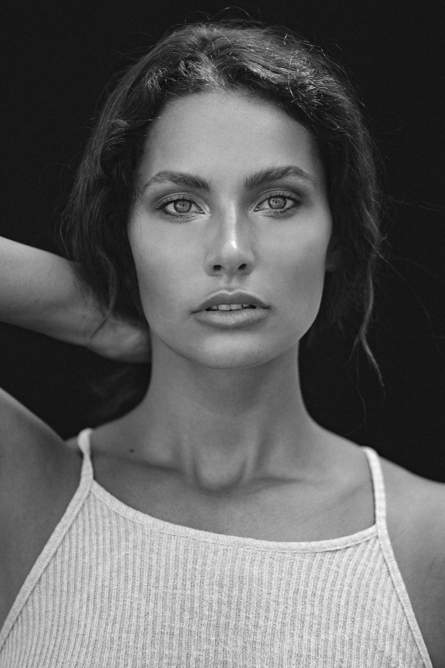 Classic portrait of beautiful Rosa who represented  by Castaway Model Management Bali, Indonesia