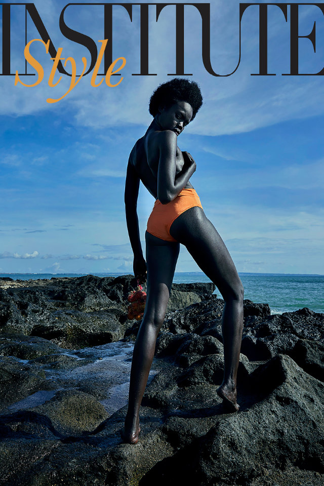 Castaway model management, Eva @darker_abuk shoot for Institute Magazine.