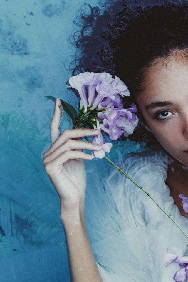 Brazilian fashion model Stephanie Olitte in Bali