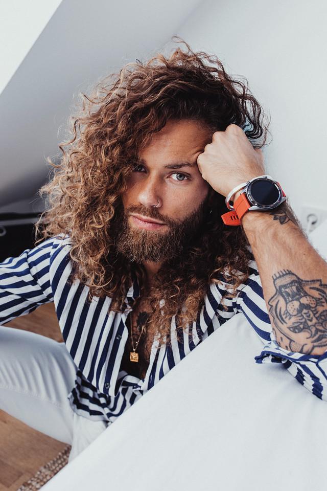 Male model Hank Ge is from Austria