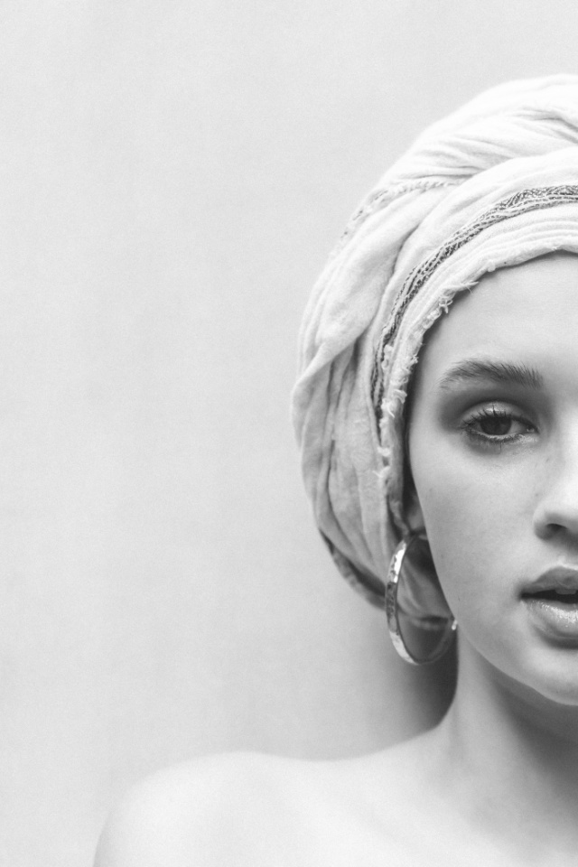 Portrait shot by Dutch photographer Marieke Rizvi. Havana Campbell is represented by Bali's most reputable model agency Castaway Model Management