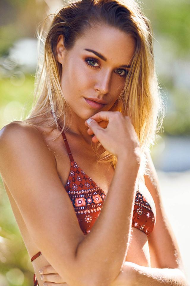 Fashiion model Melissa Overgaard based in Bali