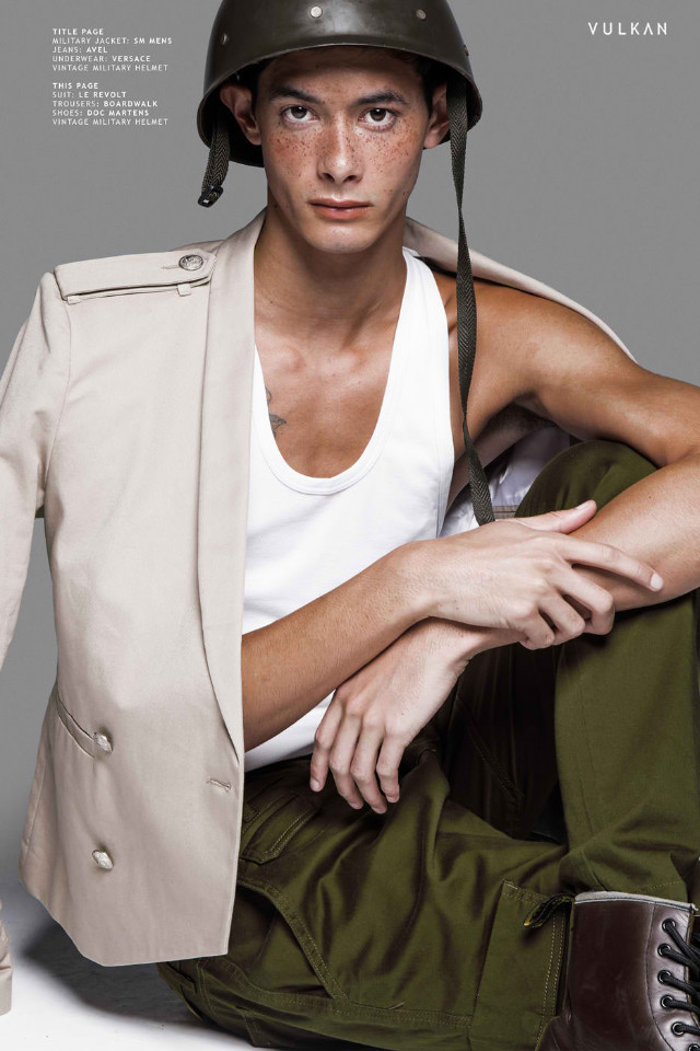 Jonathon Jackson is represented by International model agency and Bali agency