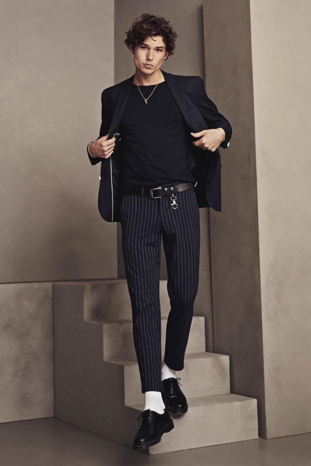 Fashion Model Jonas Halvorsen is represented by Castaway Model Management