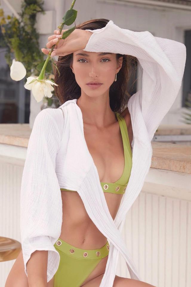 Turkey model Sevval Sahin modelling in Bali