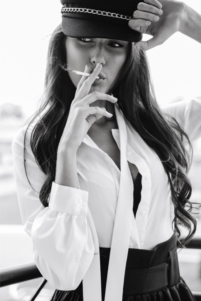 Model Anastasiia Kova by Castaway Model Management Bali